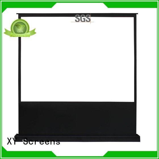 pull up projector screen 16 9 manual screen electric floor