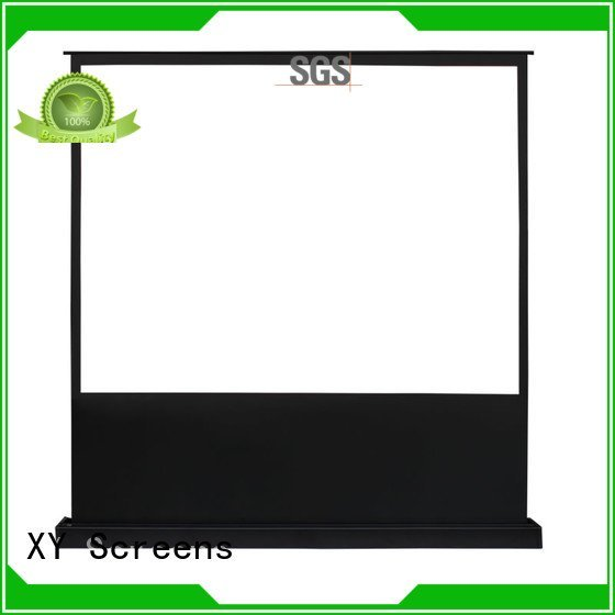 pull up projector screen 16 9 manual screen electric floor