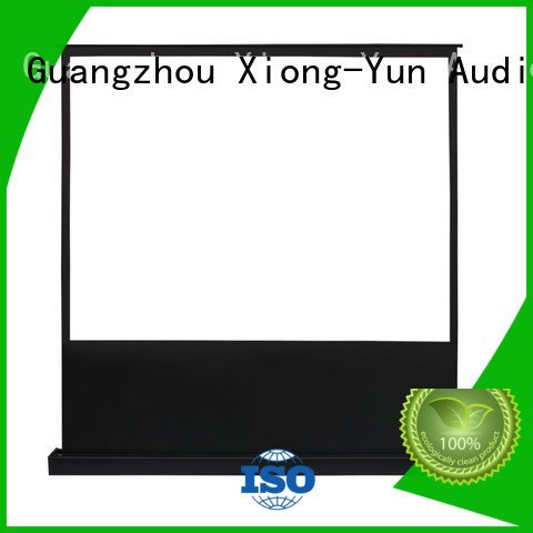 Quality pull up projector screen 16 9 XY Screens Brand dlpu pull up projector screen