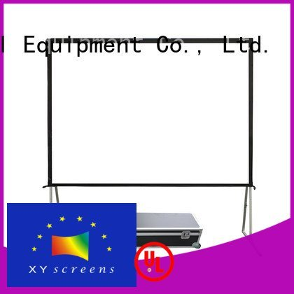 outdoor pull down projector screen projection outdoor projector screen opf