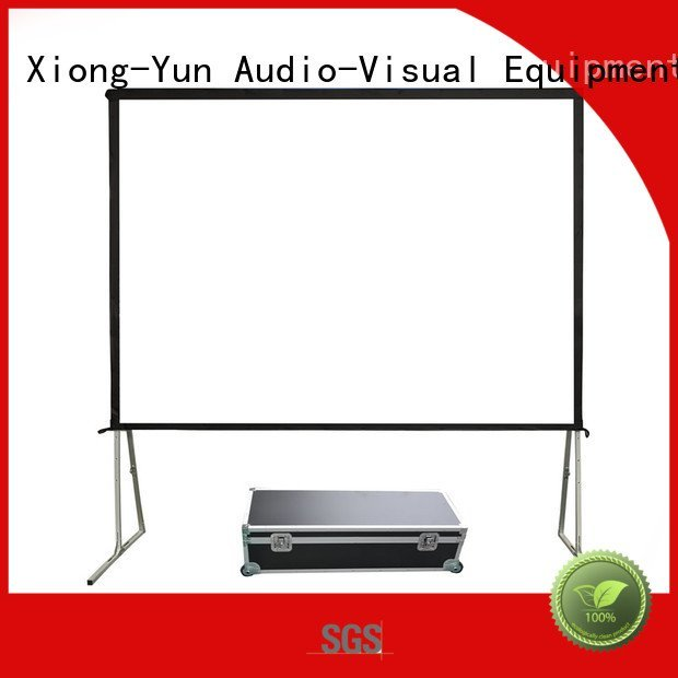 XY Screens outdoor projector screen inch fold outdoor opf