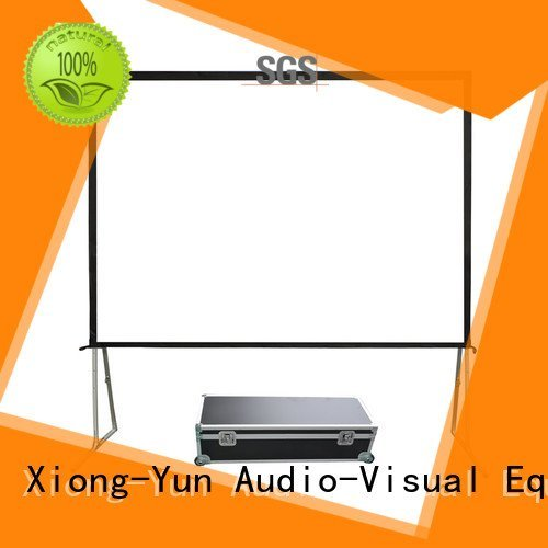 Wholesale fold projection outdoor projector screen XY Screens Brand