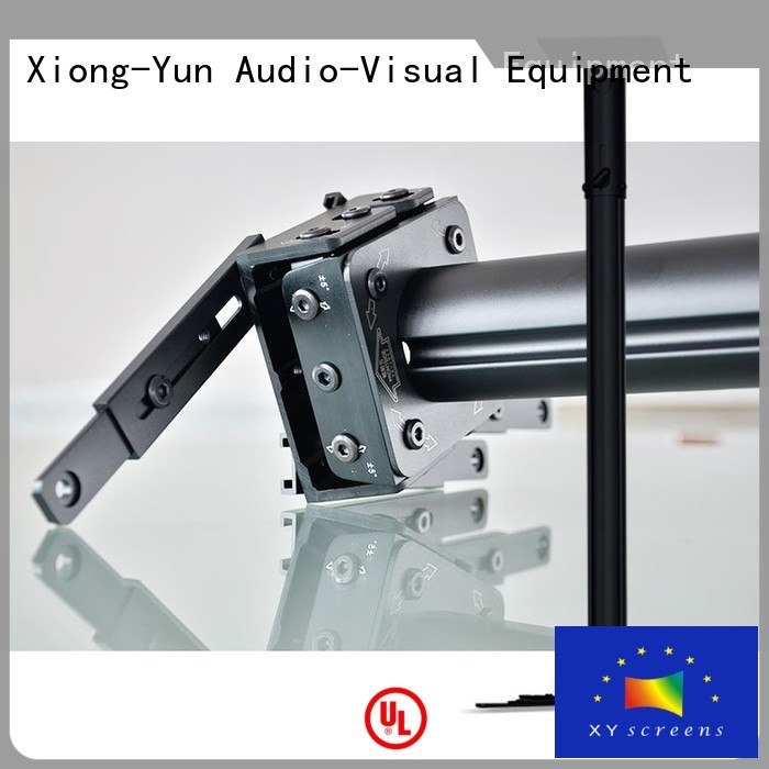 XY Screens ceiling adjustable projector mount for television