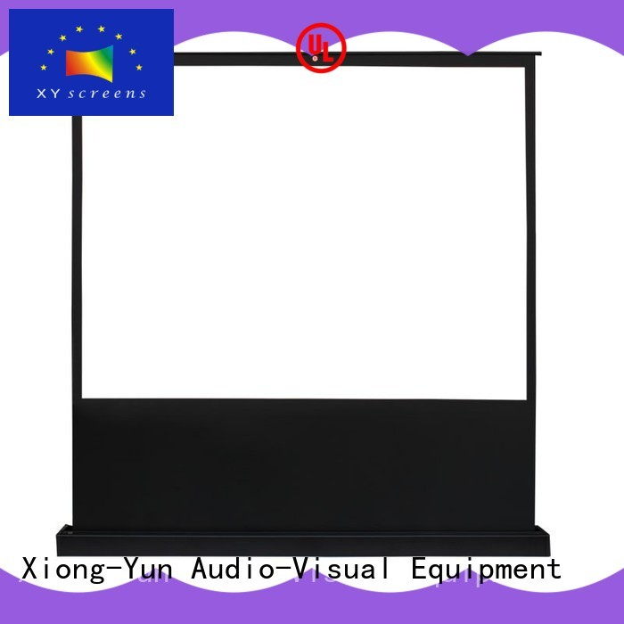 electric portable pull up projector screen wholesale for living room