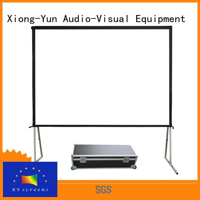 Hot outdoor pull down projector screen 80400 projection bag XY Screens Brand