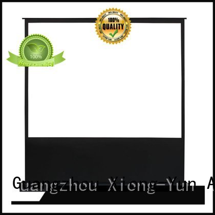 XY Screens Brand projector manual rising pull up projector screen electric