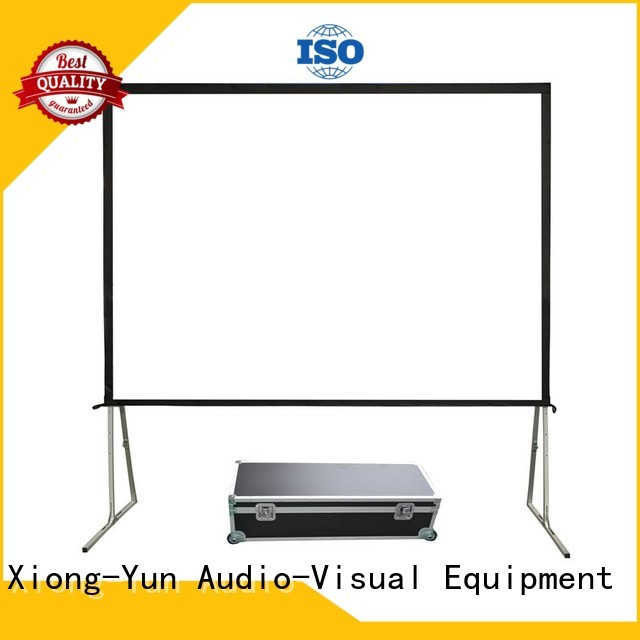 curved best outdoor projector factory price