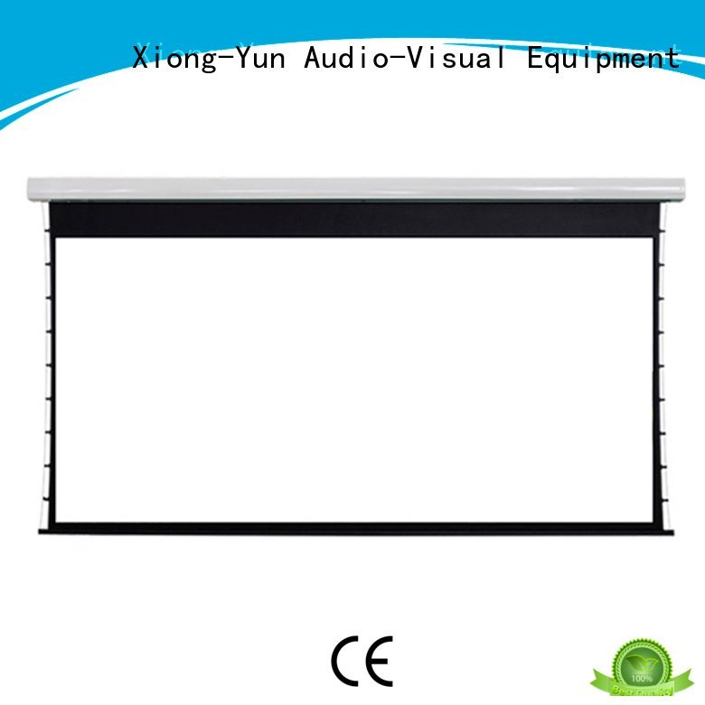 series large large portable projector screen intelligent XY Screens