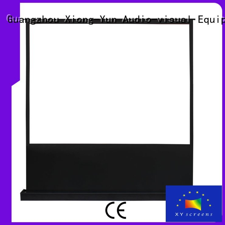 rising screen edlpu XY Screens pull up projector screen