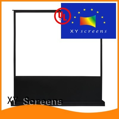 XY Screens rising electric floor rising screen for household