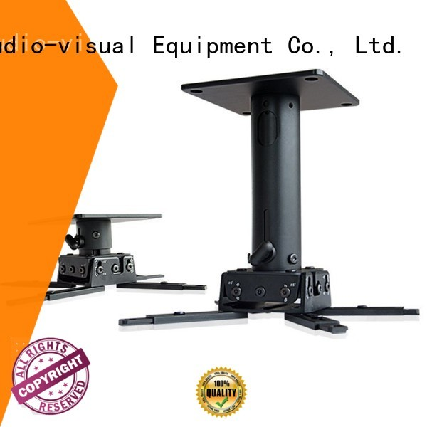 bracket for projector drape for television XY Screens