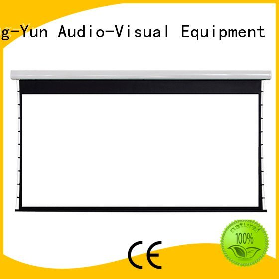 movie projector price lc2 large portable projector screen XY Screens Brand large intelligent motorized projection