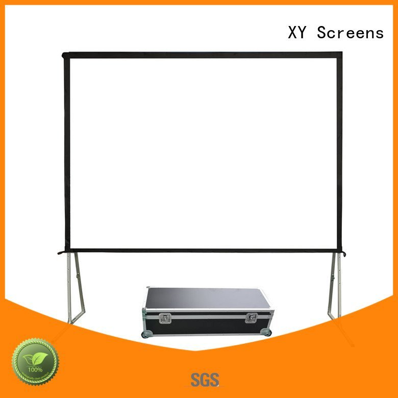 80400 XY Screens outdoor pull down projector screen