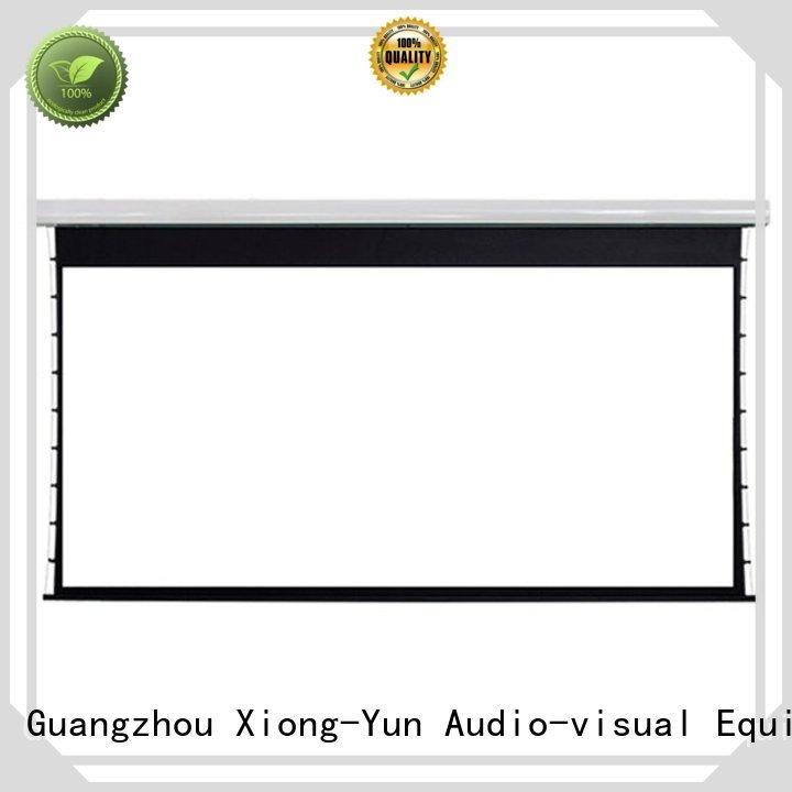 XY Screens Brand intelligent series lc2 custom movie projector price