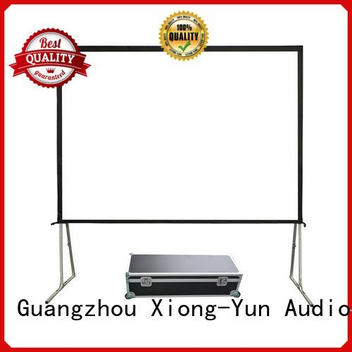 XY Screens opf outdoor outdoor projector screen ff1 bag